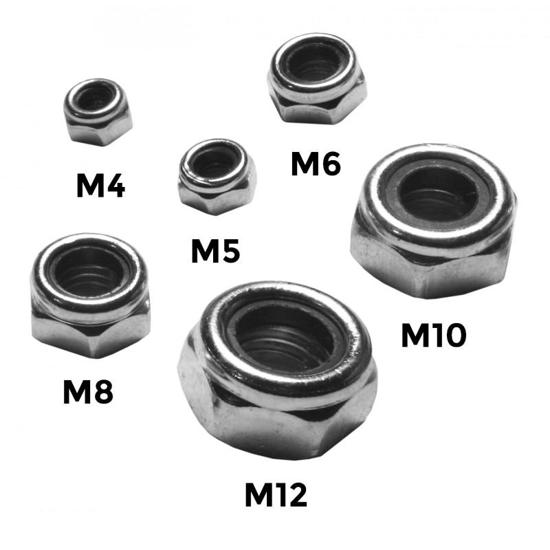 M12 locknut