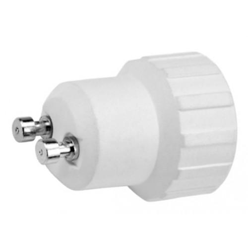 Lighting socket adapter gu10 to e14, type BE