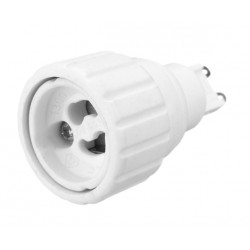 Lighting socket adapter g9 to gu10, type FB