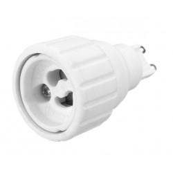 Lighting socket adapter g9 to gu10, type FB