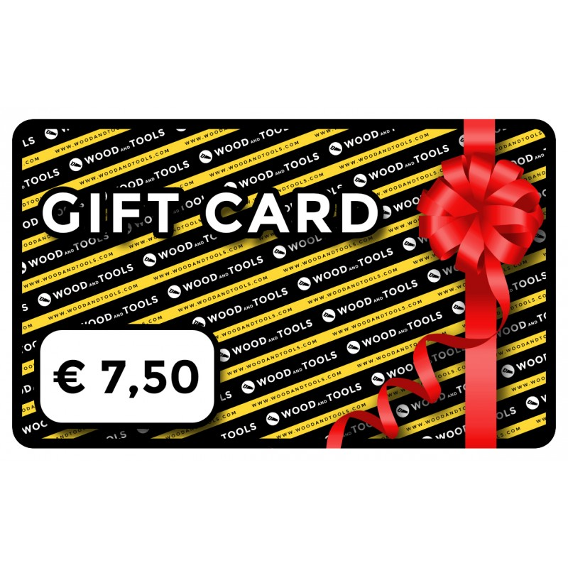 Wood and Tools gift card EUR 7.50