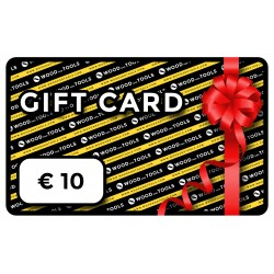 Wood and Tools digital gift card (EUR 10)