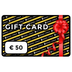 Wood and Tools digital gift card (EUR 50)