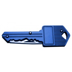 Pocket key knife (blue)