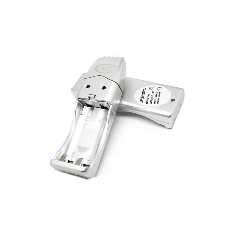 USB AA/AAA batterijlader