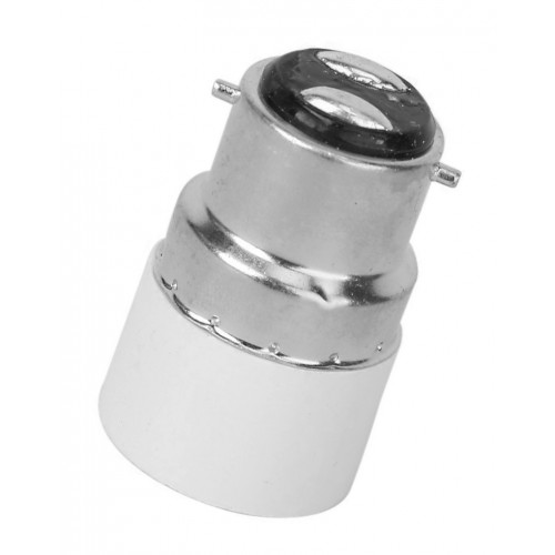 Lighting socket adapter b22 to e14, type GE