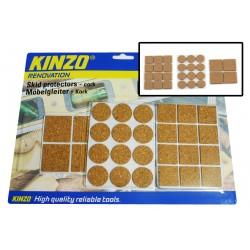 Cork pads, skid protectors