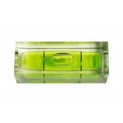 10 x libelle für Wasserwaage grün rechteckig, Größe 2
