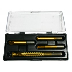 Screw extractors set