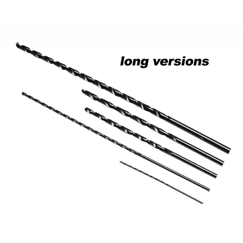 HSS (sneldraaistaal) boor 3 mm, extra lang: 100 mm
